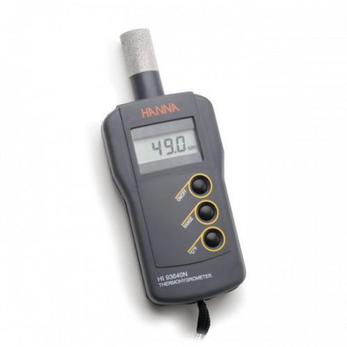 Termohigrómetro compacto (HR/ Temp) con sonda interna (10,0 a 95,0%)