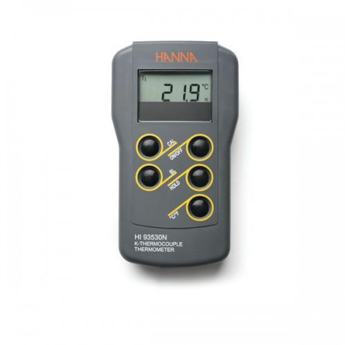 Termómetro Termopar Tipo K resolución 0,1 hasta 999ºC, función verif calibración