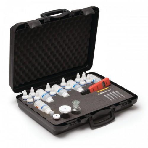 Test Kit combinado para acuicultura (Alcalinidad/ Dióxido Carbono/ Dureza/ OD/ pH/ Salinidad)