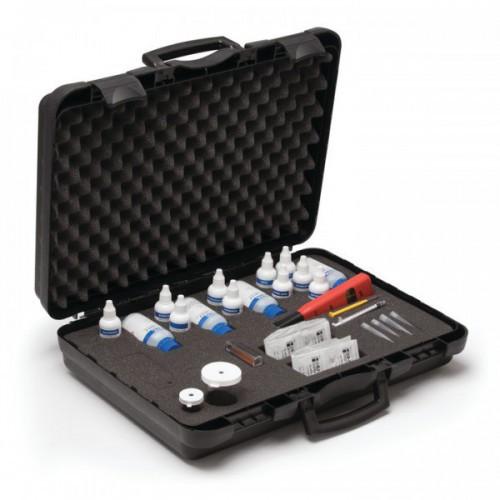 Test Kit combinado para calidad del agua (Alcalinidad / Cloruros / Dureza / Fe / pH / Sulfito )