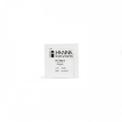 Reactivo Hierro Rango Bajo (0 a 999 ppb) 25 test