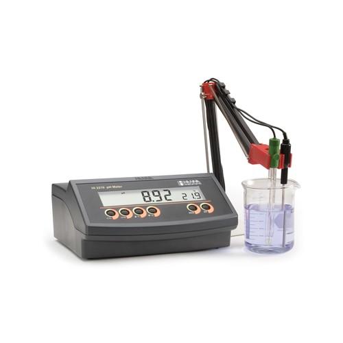 pHmetro sobremesa básico (pH/ Temp) calibr. 2 ptos
