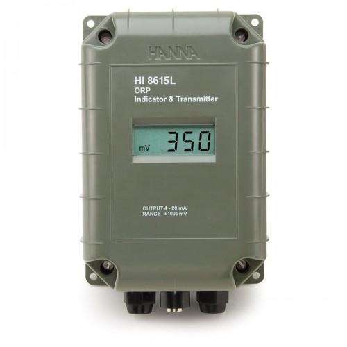 Transmisor ORP con salida aislada 4-20 mA