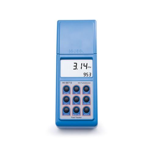 Turbidímetro portátil (0,00 a 1000 NTU) luz infrarroja, salida USB/ RS232