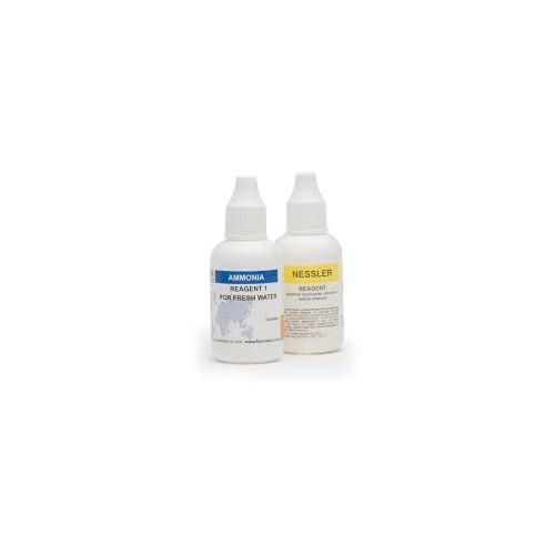Recambio 100 test para Amoníaco agua dulce (0,0 a 3,0 mg/ L)