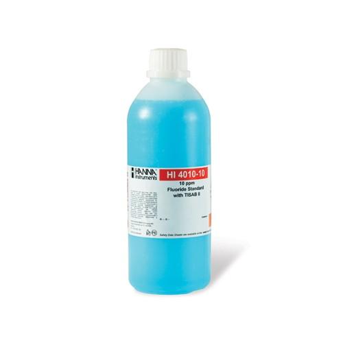 Solución estándar Fluoruros 10 mg/L con TISAB II, 500 ml