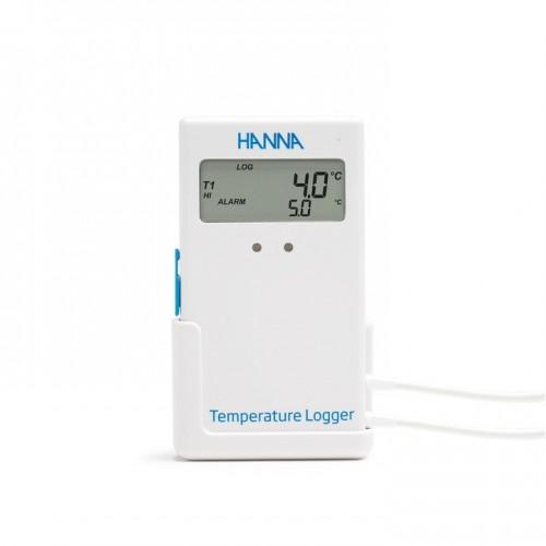 Registrador de temperatura con pantalla, 1 canal interno