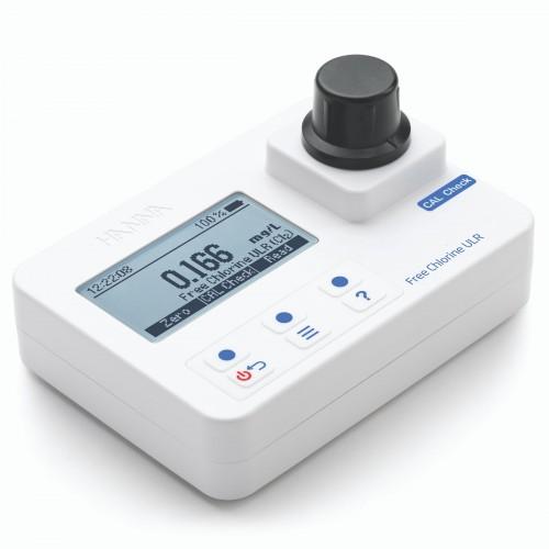 Fotómetro portátil Cloro Libre rango bajo 0,000 a 0,500 mg/L