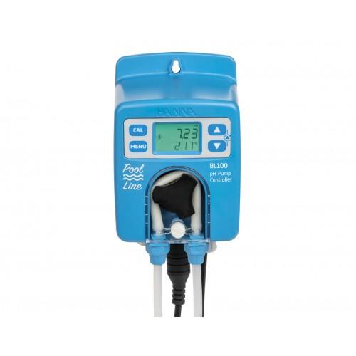Bomba peristáltica de pH con electrodo amplificado de pH/Tª
