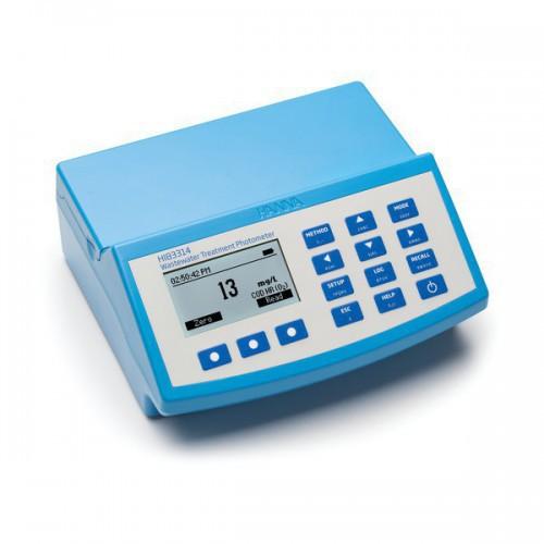 Fotómetro multiparamétrico sobremesa con DQO y pHmetro (230V)