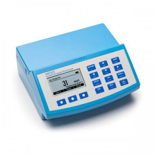 Fotómetro multiparamétrico sobremesa para nutrientes en suelo y pHmetro (230V)