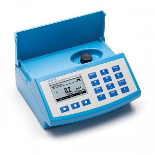 Fotómetro multiparamétrico sobremesa y pHmetro para calderas y torres de refrigeración (230V)