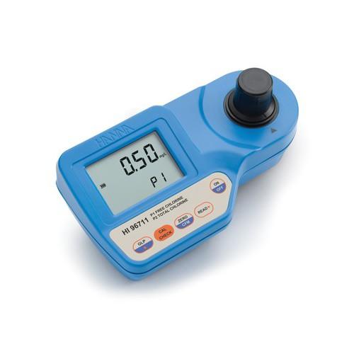 Fotómetro portátil Cloro Libre y Total (0,00 a 5,00 mg/L)