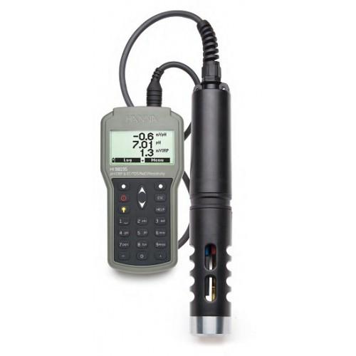 Multiparamétrico portátil (pH/mV , ORP , CE , TDS , Resistividad , Salinidad y Temperatura)