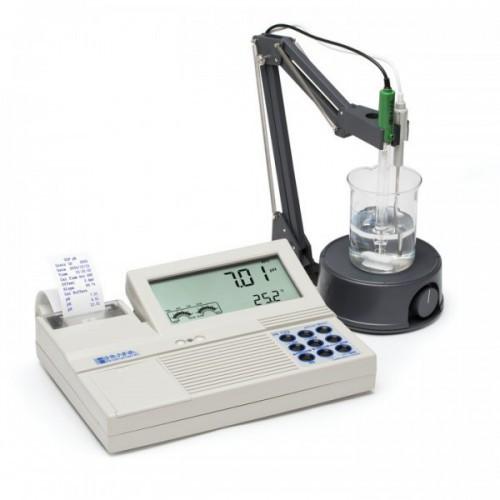 pHmetro sobremesa (pH/ ORP/ Temp) con impresora incorporada